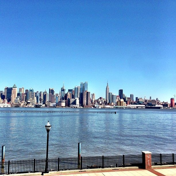 Weehawken, NJ in New Jersey So fortunate to have lived here, being able to see the beautiful NY skyline.