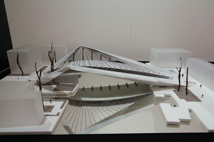 Primer Lugar Concurso Puente de Venecia / A-001 maqueta03 – Plataforma Arquitectura