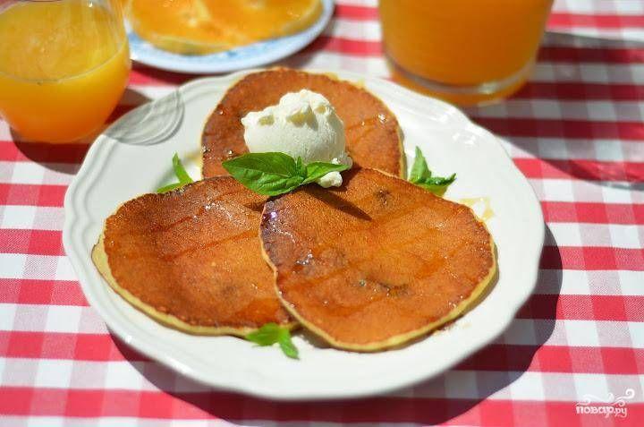 Творожные блинчики с изюмом - пошаговый рецепт с фото на Повар.ру