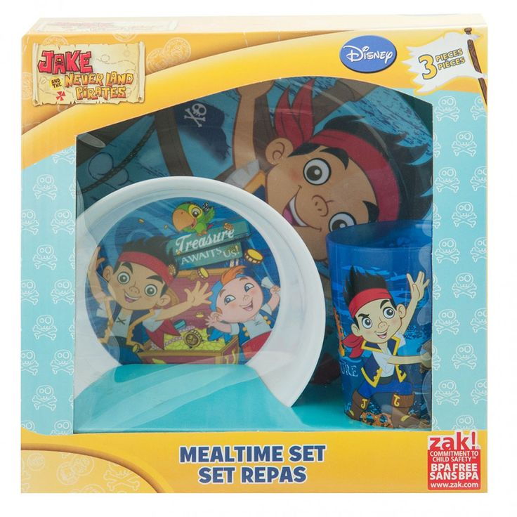 Jake and the Never Land Pirates Dinner Set from Funstra Toys