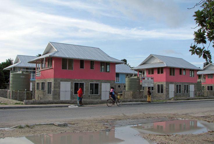 https://flic.kr/p/7SsT4v | Kiribati 09586 | New housing at Betio, South Tarawa, Kiribati