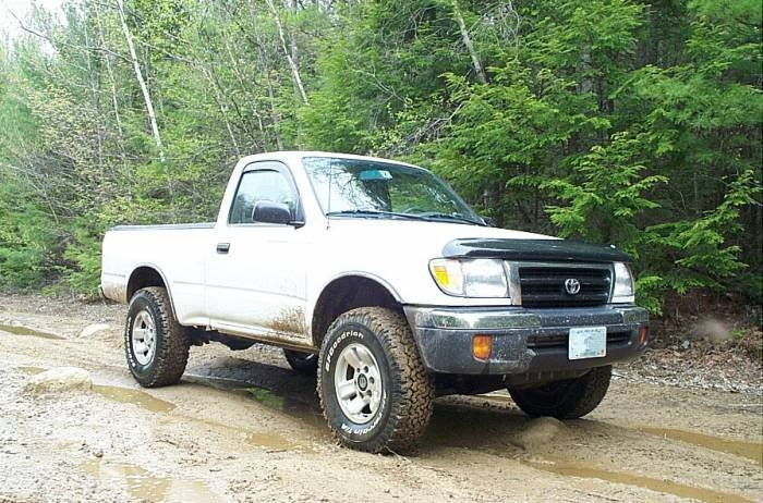 Andy Ray's 1998 Toyota Tacoma 4x4. bought back by Toyota in 2010 in Frame Recall.