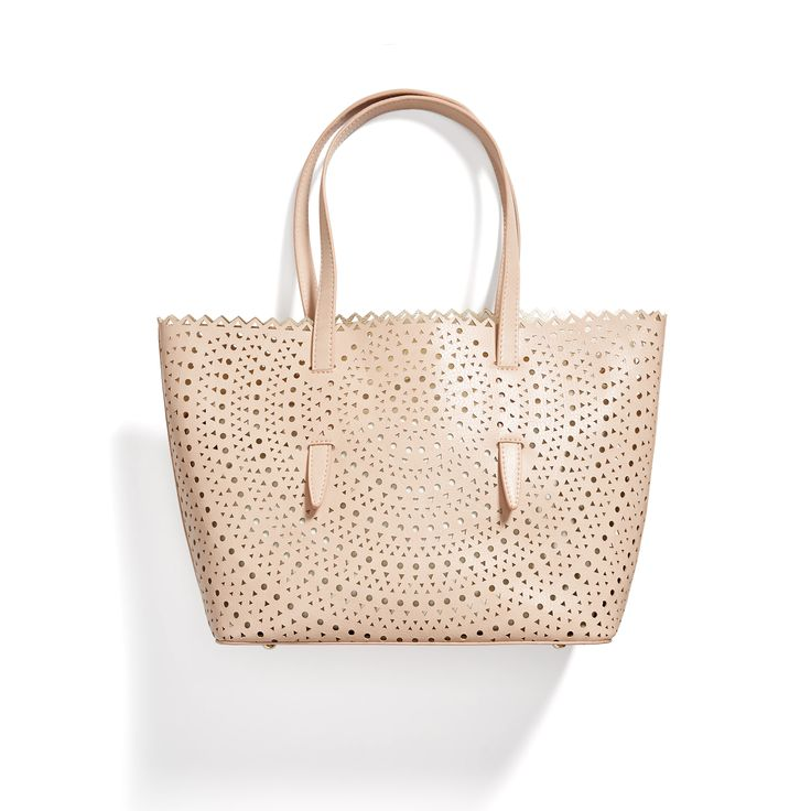 Stitch Fix May Styles: Perforated Tote Bag