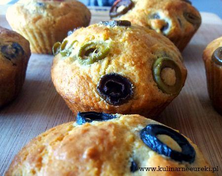 Muffinki z oliwkami
