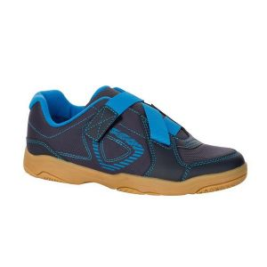 ARTENGO BS 700 JR SHOES BLUE GREY Occasional badminton (child model). fully Convenience low price! available on damroobox website.