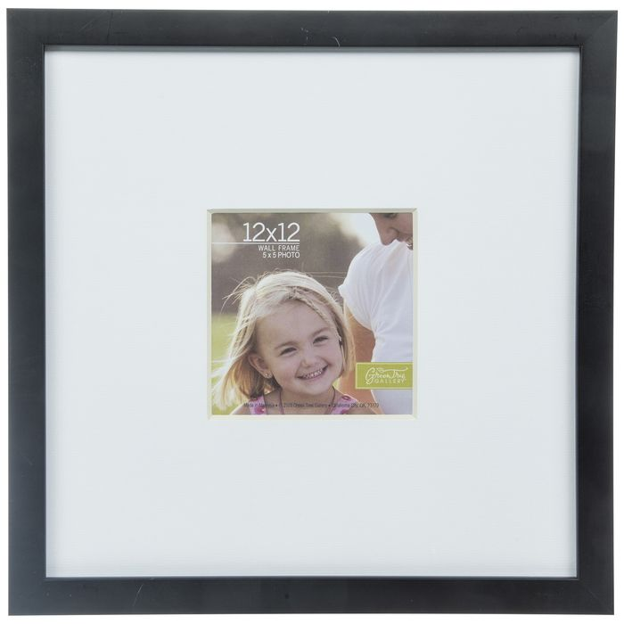 Black Matte Flat Wood Wall Frame 12 X 12 Hobby Lobby 1186378 In 2020 Frames On Wall Frame Black Walls