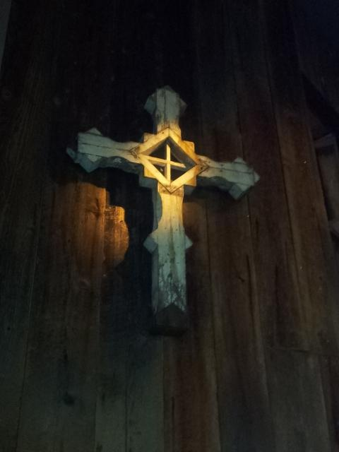 Awesome wood cross carving art and fine woodworking
