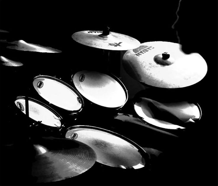 Drums And Cymbals Wallpaper