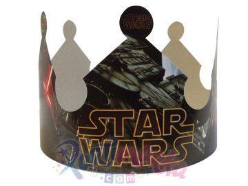 Star Wars Doğum Günü Karton Taç