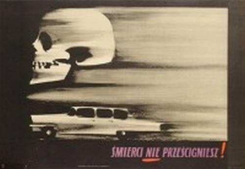 Roman Cieslewicz Smierci nie przescigniesz 1957