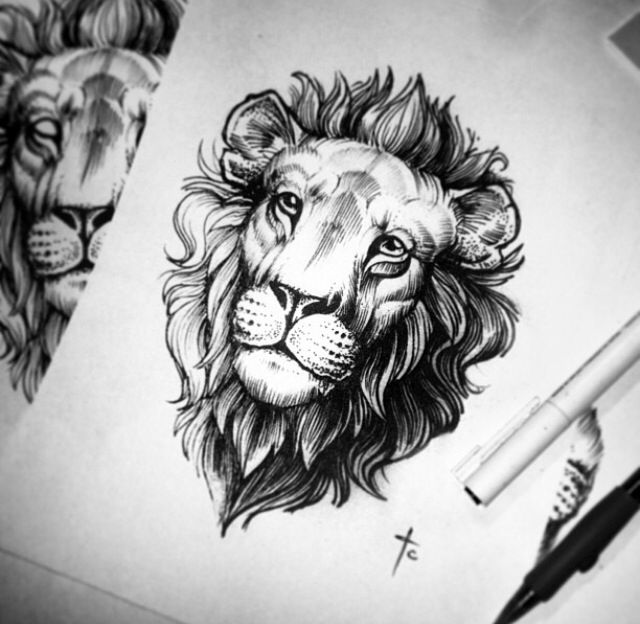 Alex Tabuns - LEO the lion design