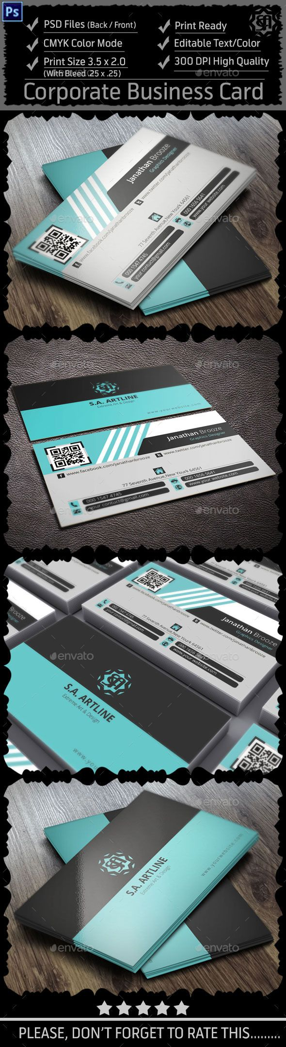 2226 best business card images on Pinterest | Business cards ...