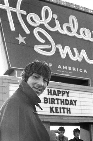 Keith Moon Flint, MI 1967  © TOM WRIGHT The night of infamy in which The Who were banned from Holiday Inns FOREVER!!!! This was a show at the IMA I'm sure. That Holiday Inn was across the street and all the bands stayed there. I had a buddy who got a job there and he used to have me come down when the bands were hanging out. I wish I had taken pictures.