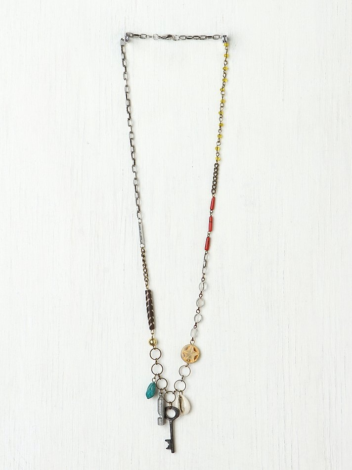 Eclectic Mix Necklace at Free People Clothing Boutique