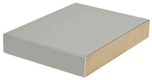 MDF-Platte mit 0,7 mm HPL-Belag – workraster Verkettung – BTH 900x600x30mm