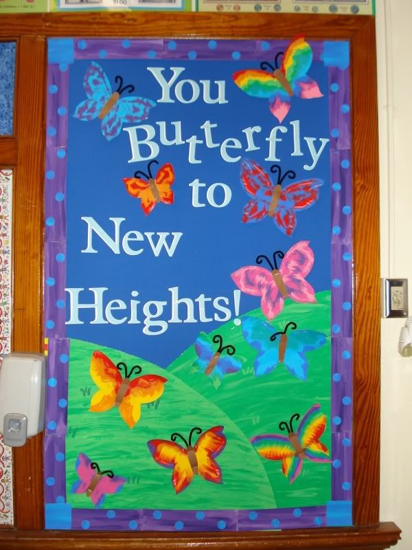 Math Classroom Door Decoration Ideas ~ Best butterfly bulletin board ideas on pinterest