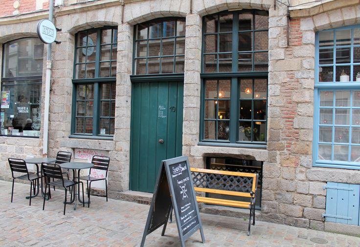 Tamper bar - rue des vieux murs - vieux-Lille : une bonne petite adresse, une formule à 8, 30 €, avec des desserts gourmands +++