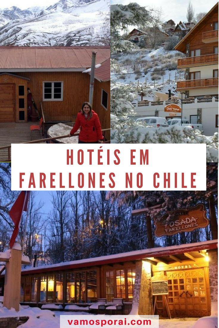 Planejando curtir a neve no Chile? Farellones fica próximo ao Valle Nevado e tem várias opções de hospedagem. Confira. #chile #viajar #ferias #neve #destinodeinverno #inverno #hotel