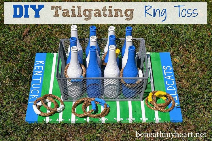 DIY Tailgating Ring Toss Game!
