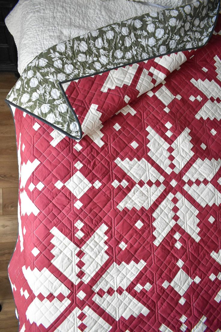 Knitted Star in 2020 | Star quilt patterns, Quilt patterns ...