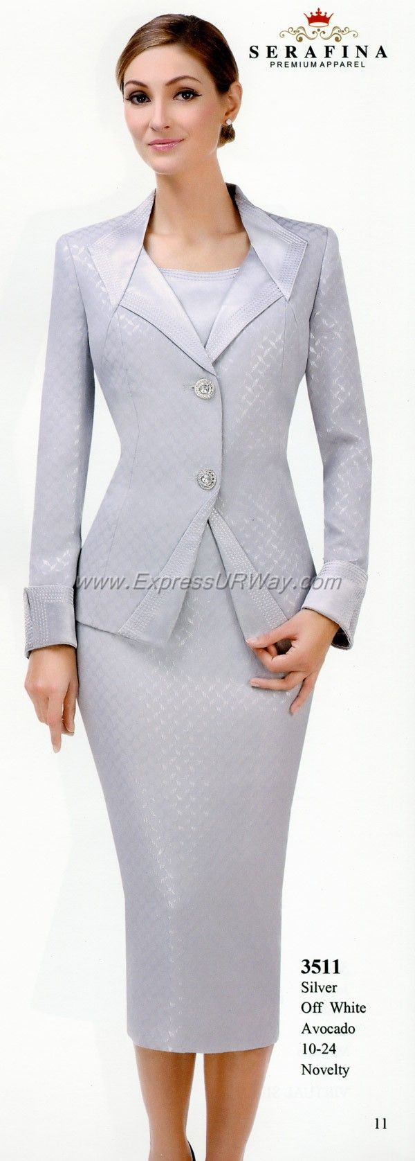 Serafina Womens Suits for Spring 2014 - www.ExpressURWay.com - Serafina, Serafina collections, Serafina Womens Suits, Church Suits, Couture Suits, Spring 2014, ExpressURWay