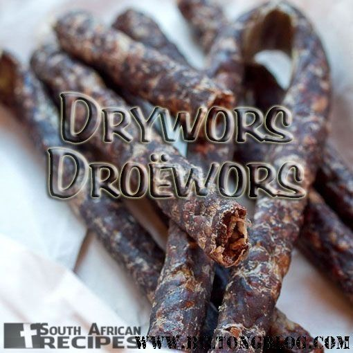 How to make Droë Wors, Dry Wors at home