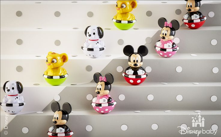 Be sure to pick up your set of Disney Teeter Toddlers™ now on sold at Amazon!