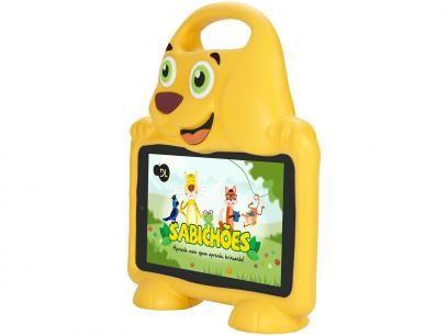 """Tablet DL Drop Kids Plus 8GB 7"""" Wi-Fi Android - Proc. Quad Core Câmera Integrada com as melhores condições você encontra no Magazine Ofertaeproduto. Confira!"""