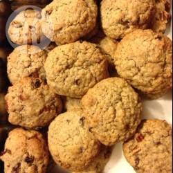 Cookies de lactation aux raisins secs et aux noix de pecan @ allrecipes.fr