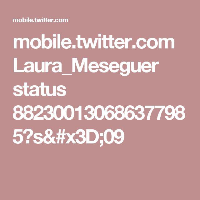 mobile.twitter.com Laura_Meseguer status 882300130686377985?s=09
