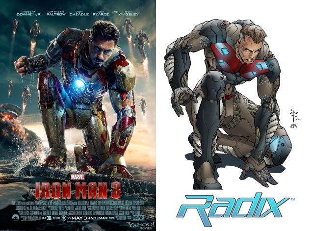 Dos dibujantes demandan a Marvel por el diseño de armadura de Iron Man