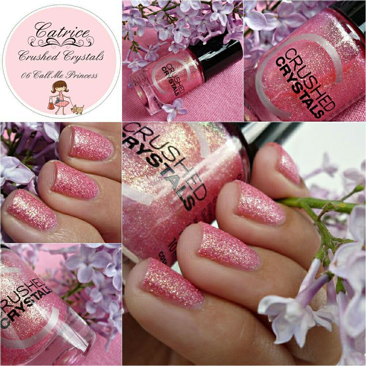 Malý koutek krásy: Catrice Crushed Crystals - 06 Call Me Princess :-)