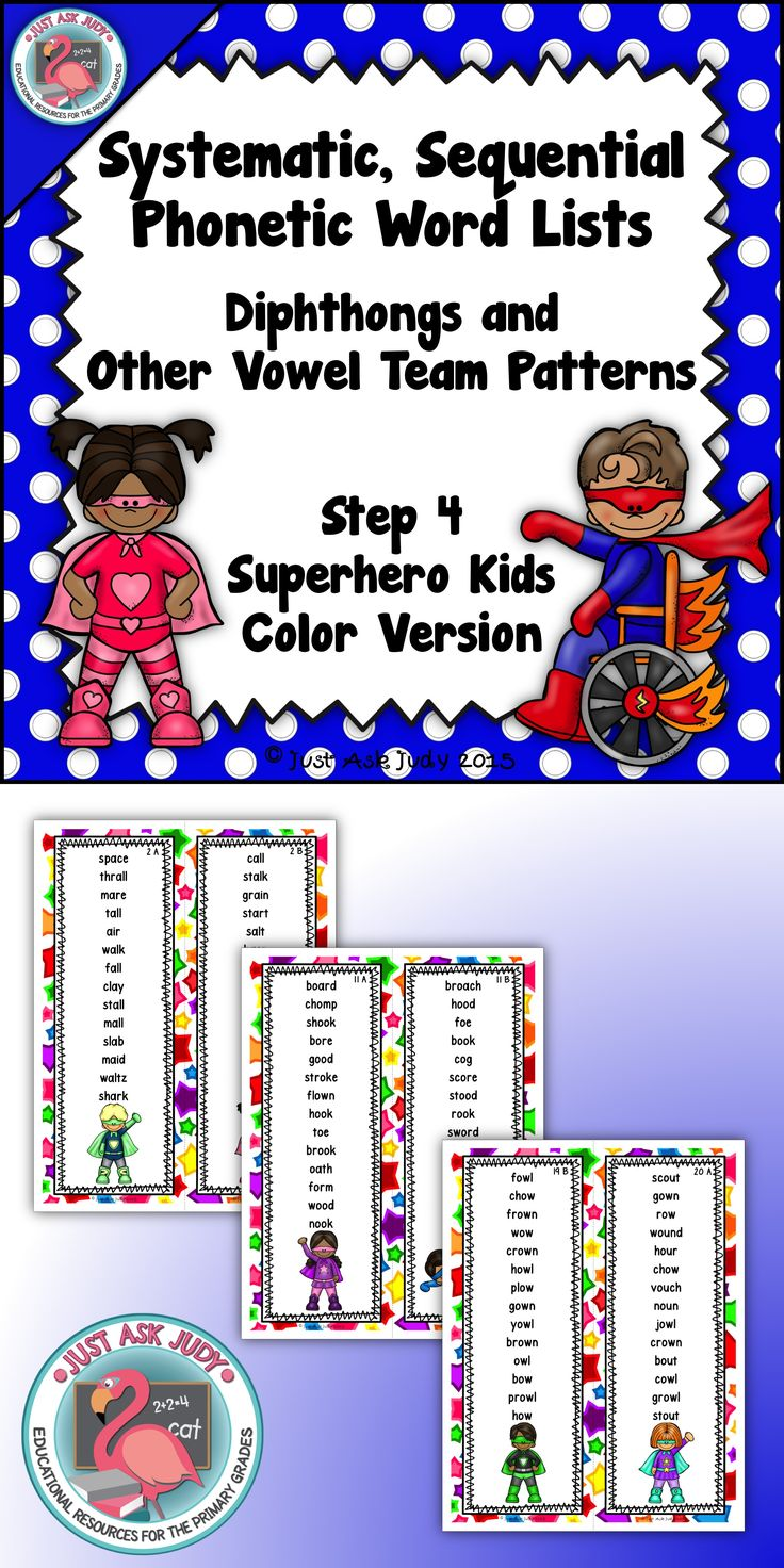 Worksheet Au Words 17 best images about ew lesson ideas on pinterest words student phonics word lists with diphthongs and other vowel team patterns superhero theme