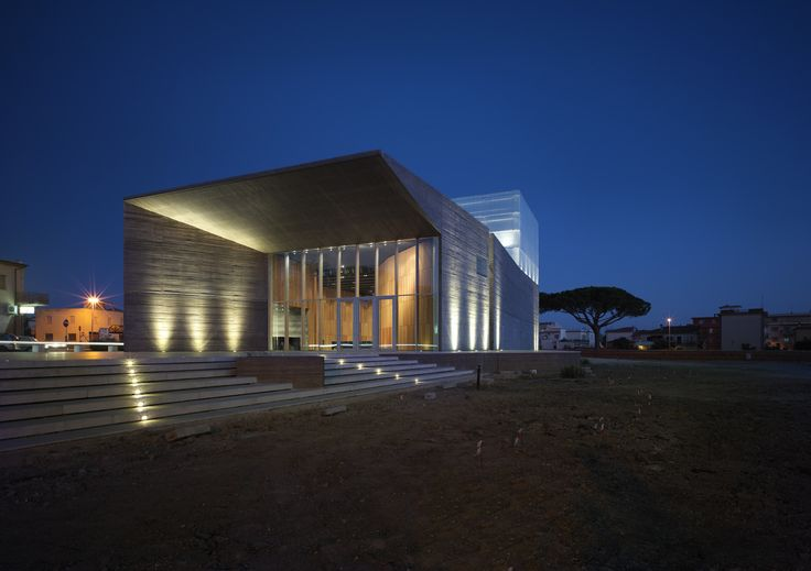 Gallery of New Theatre in Montalto di Castro / MDU Architetti - 22