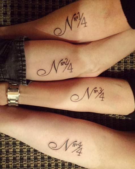 Adorable and One of a Kind Sibling Tattoo Ideas