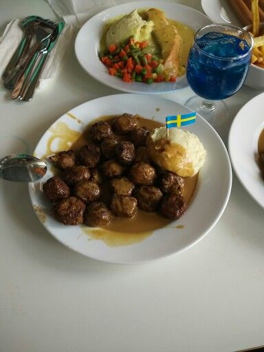 Swedish meat ball at IKEA Indonesia
