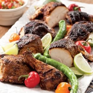 Butterflied Grilled Chicken with a Chile-Lime Rub Recipe