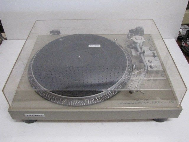 1 Pioneer Direct Drive Turntable Pl 518 Empire