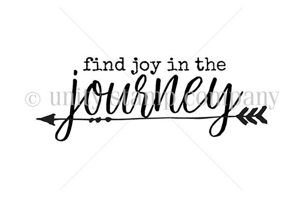 """find joy in the journey"" sentiment measures approximately .75"" x 2.25"".    Our Bitty Itty Bitty Sentiments are always in one bag. It is our way of offering them to you at high quality and inexpensive. To print packaging for each sentiment and then to pack each sentiment separately would mean that our costs would have to be higher on those. It would be very tedious to do this. We don't offer our sentiments to stores – they are exclusive to our online customers – so we thought that putting…"
