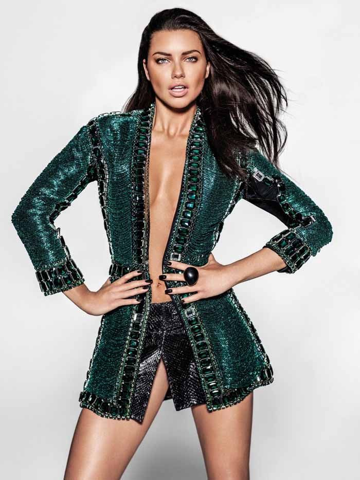 Adriana Lima Channels Indian Spirits, Lensed By Russell James For Vogue Mexico August 2015 - 3 Sensual Fashion Editorials | Art Exhibits - Women's Fashion & Lifestyle News From Anne of Carversville