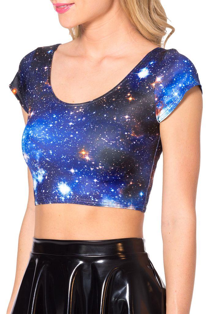 Galaxy Blue Nana Suit by Black Milk Clothing