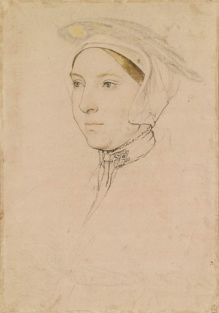 Hans Holbein the Younger, An unidentified woman (ca. 1532-43, Royal Collection, London)