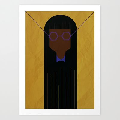 GIRLS #2 Art Print by The Bearded Bird. - $14.00