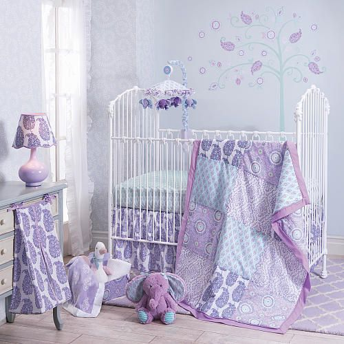 "Happi by Dena™ Olivia 4 Piece Bedding Set by Lambs & Ivy - Lambs & Ivy Bedtime - Babies ""R"" Us"