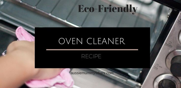 oven cleaner recipe