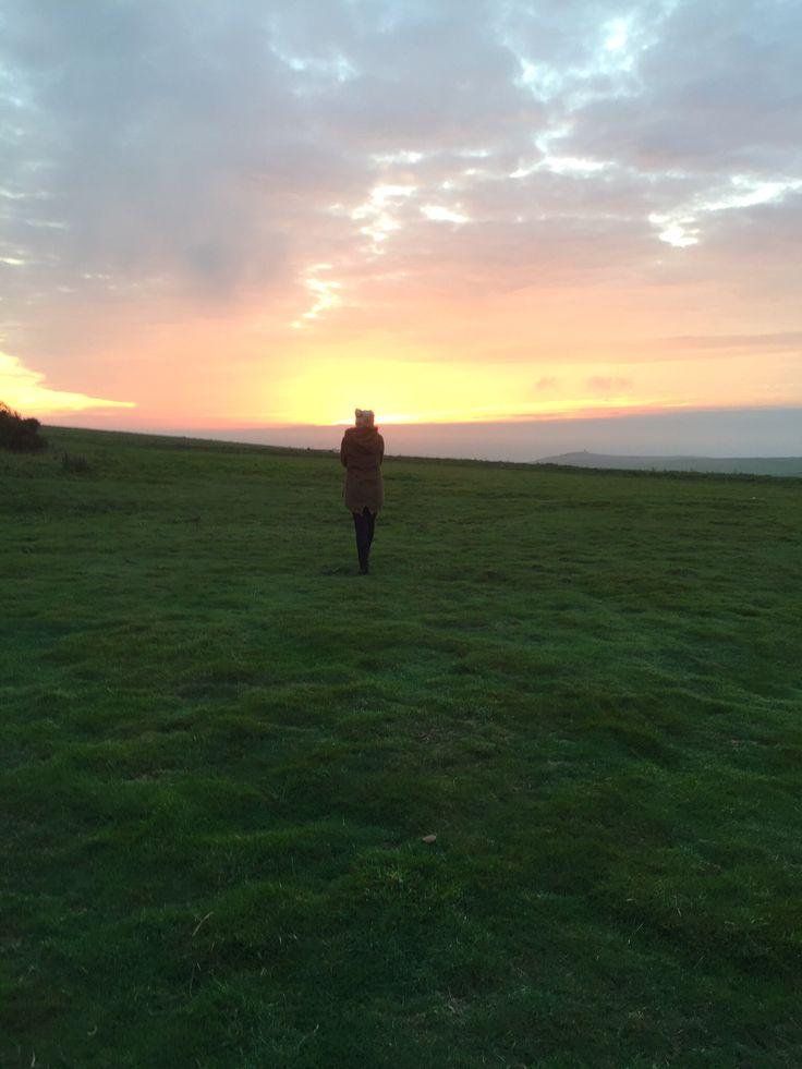 Beachy Head, Kent, sunset