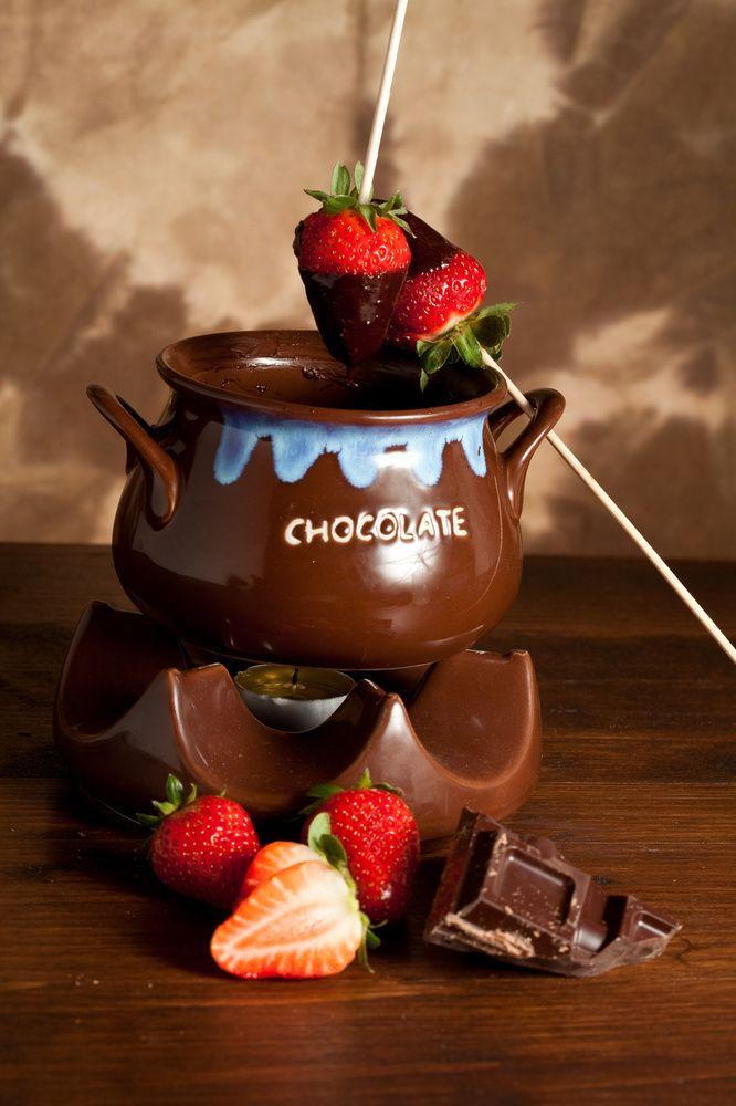 Fondue σοκολάτας | Άκης Πετρετζίκης