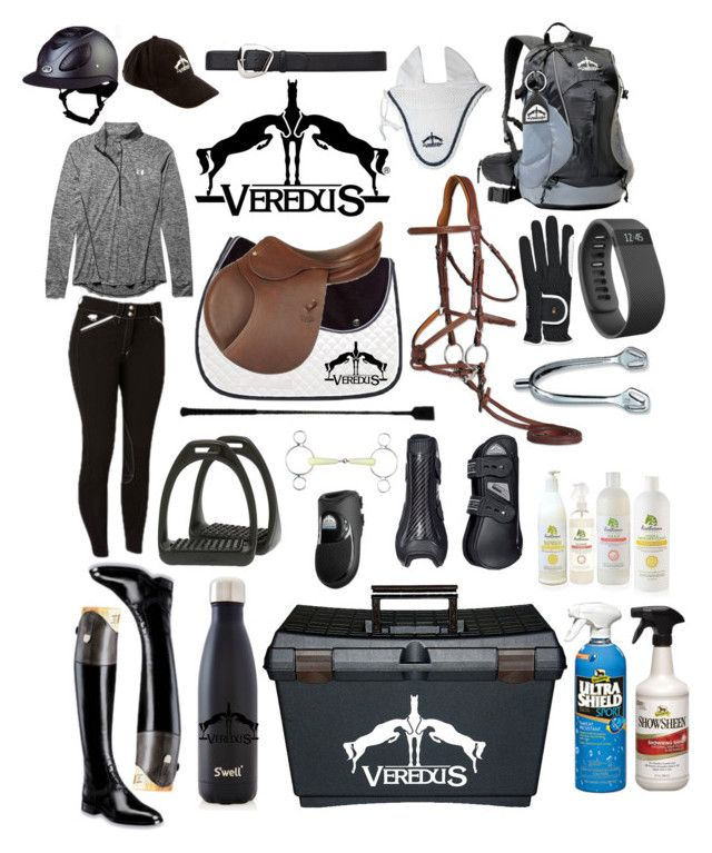 """veredus themed rootd"" by a-circuit-equestrian on Polyvore featuring Under Armour, Allegri Milano, S'well, Fitbit, women's clothing, women, female, woman, misses and juniors"