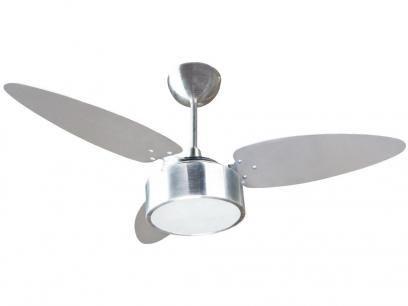 Ventilador de Teto Fharo Ventisol - 3 Pás 3 Velocidades Alumínio com as melhores condições você encontra no Magazine Edisiosilvameira. Confira!