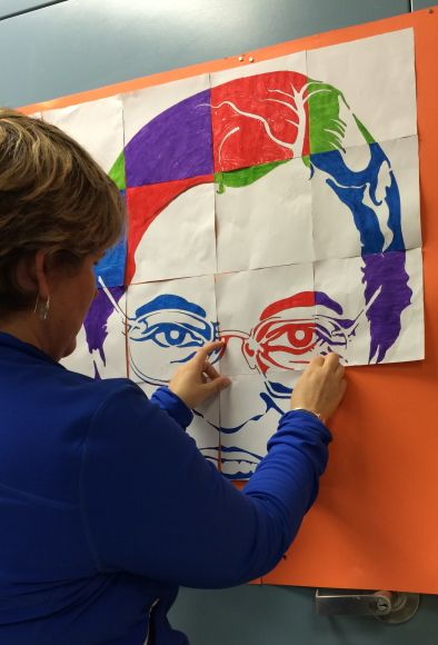 Learn about Rosa Parks using this fun, easy and FREE Pop Art Rosa Parks art project for kids.